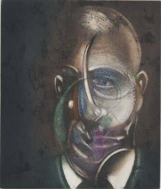 Aguafuerte Y Aguatinta Bacon - Portrait of Michel Leiris