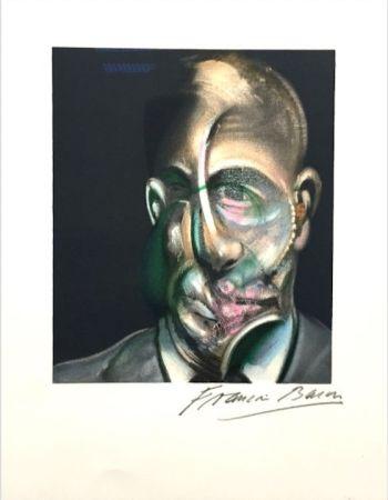 Litografía Bacon - Portrait of Michel Leiris