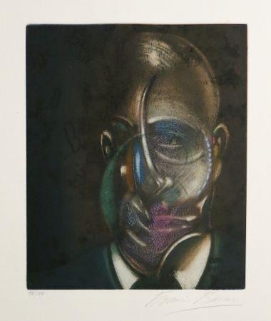 Aguatinta Bacon - Portrait of Michel Leiris