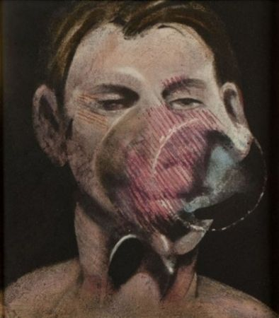 Aguafuerte Y Aguatinta Bacon - Portrait of Peter Beard I