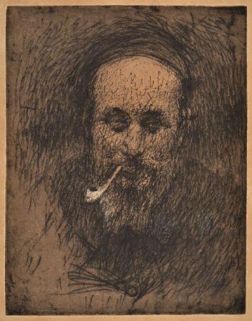 Relieve Bucci - PORTRAIT OF THE PAINTER PIROLA ante 1907
