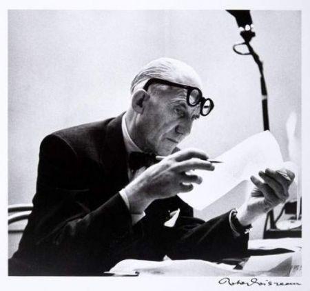 Fotografía Le Corbusier - Portrait par Robert Doisneau