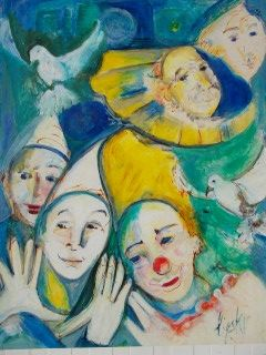 Sin Técnico Lipsky - Portraits de Clowns