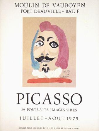 Offset Picasso - Portraits Imaginaire , Moulin de Vauboyen
