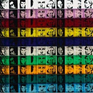 Serigrafía Warhol - Portraits of the Artists