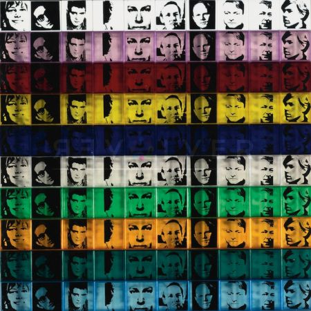 Serigrafía Warhol - Portraits of the Artists (FS II.17)