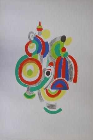 Litografía Delaunay - Poupées portugaises
