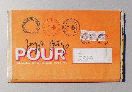 Serigrafía Beuys - POUR