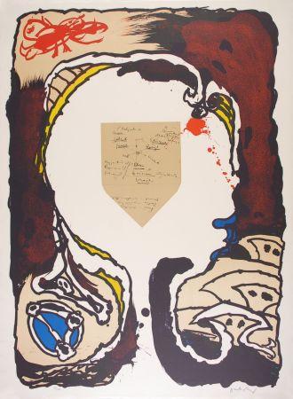 Litografía Alechinsky - Pour Jorn