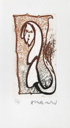 Grabado Alechinsky - Pour Joyce Mansour