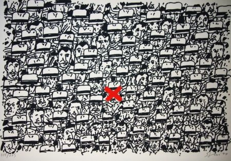 Litografía Segui - Pour le peuple africain