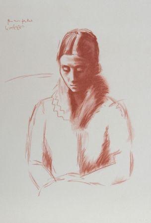 Litografía Picasso - Pour mon Fils Raul