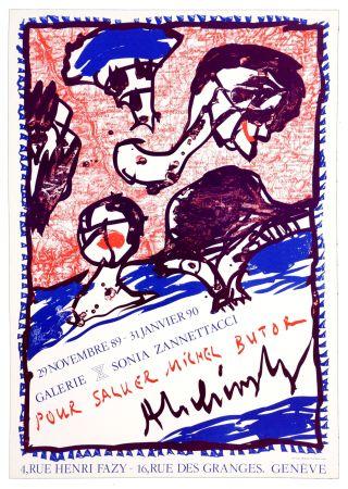 Cartel Alechinsky - Pour saluer Michel Butor