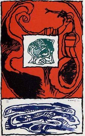 Litografía Alechinsky - Premier acte