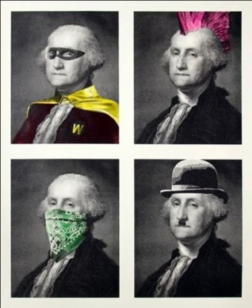 Múltiple Mr Brainwash - President's Day