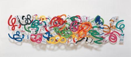 Litografía Gerstein - Primary colours