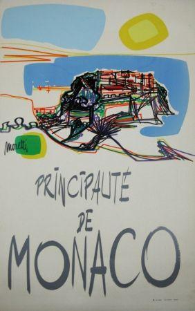 Serigrafía Moretti - Principauté de Monaco  1960