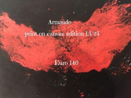Litografía Armando - Print on cavas