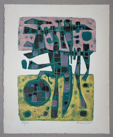 Litografía Manessier - Printemps Nordique II. - 1956