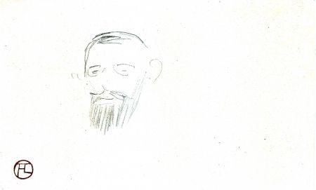 Sin Técnico Toulouse-Lautrec - Procès Arton — Tête de monsieur Jacques Saint-Cère