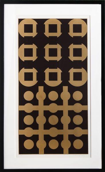 Serigrafía Vasarely - Procion from Constellations