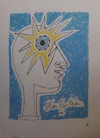 Litografía Cocteau - Profil