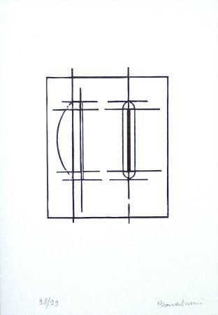 Linograbado Bonalumi - Progetto