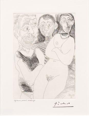 Grabado Picasso - Prostitutee et Marins