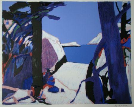 Litografía Godard - Provence