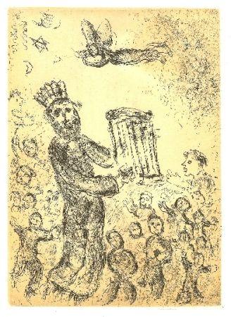 Punta Seca Chagall - Psaumes de David 1