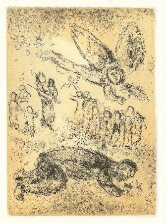 Punta Seca Chagall - Psaumes de David 2