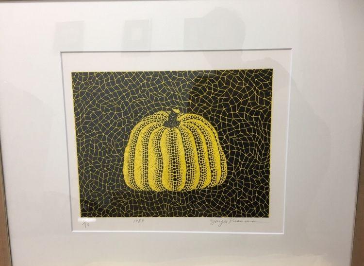Litografía Kusama - Pumpkin