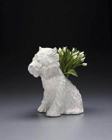 Sin Técnico Koons - Puppy Vase