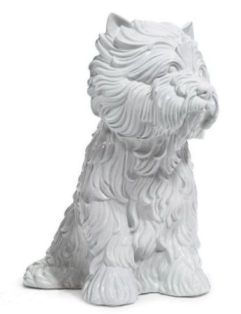 Múltiple Koons - Puppy (vase in the form of West Highland Terrier)