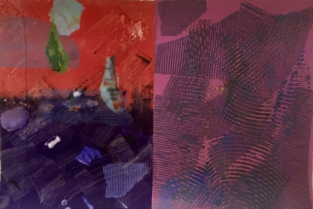Monotipo Gilliam - Purple