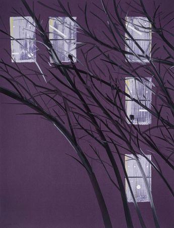 Serigrafía Katz - Purple Wind