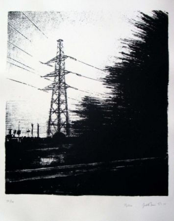 Litografía Marin - Pylône
