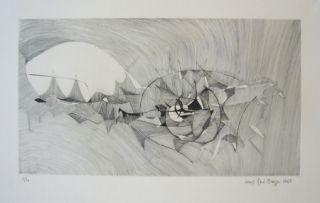 Grabado Berge - Quadrige