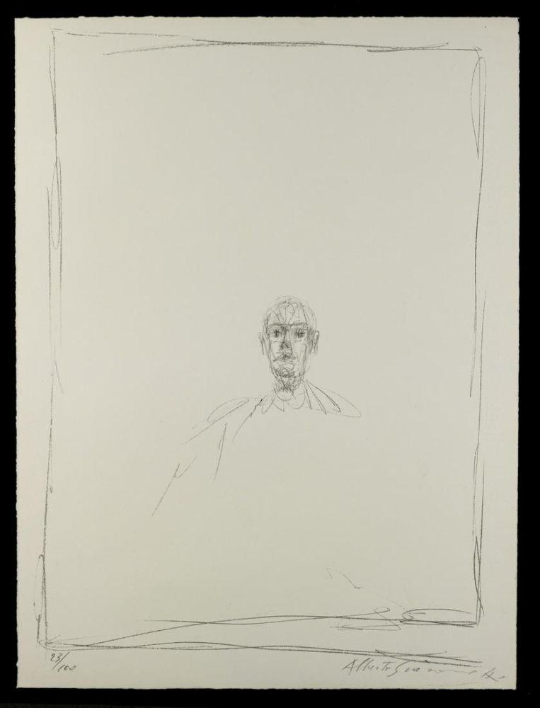 Litografía Giacometti - Quarantacinque disegni di Alberto Giacometti