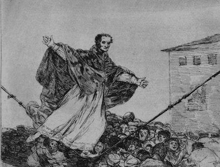 Aguafuerte Y Aguatinta Goya - Que rompe al cueda