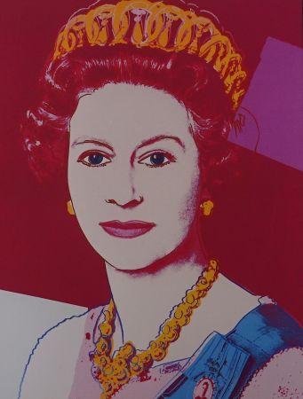 Serigrafía Warhol - Queen Elizabeth II