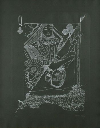 Grabado Ray - Queen of Spades