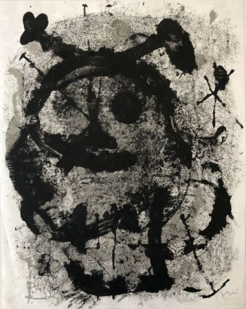 Litografía Miró - Quelques fleurs pour des amis