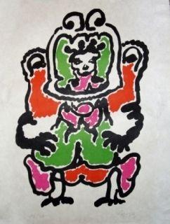 Litografía Lapicque - Quetzalcoalt
