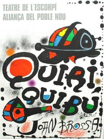 Litografía Miró - Quiriquibú