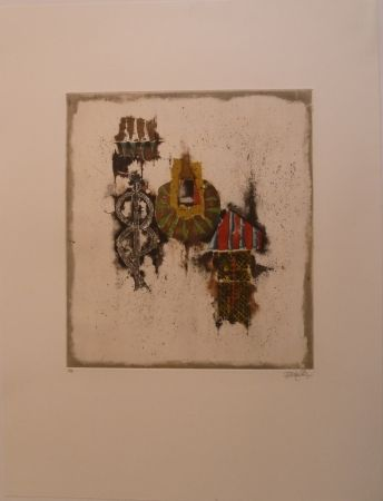 Grabado Friedlaender - Règne Vegital IV