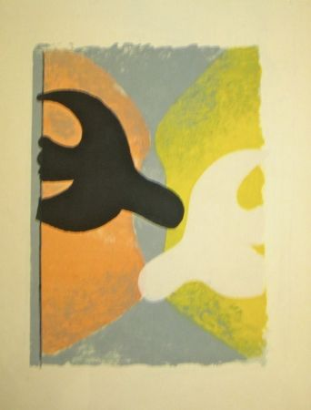 Litografía Braque - Résurrection de l'oiseau