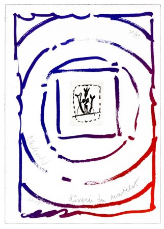 Grabado Alechinsky - Rêverie du matelot I
