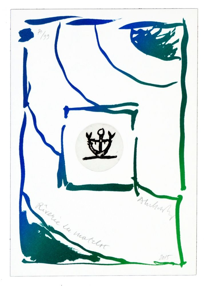 Grabado Alechinsky - Rêverie du matelot III