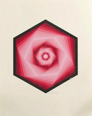 Serigrafía Vasarely - Radau
